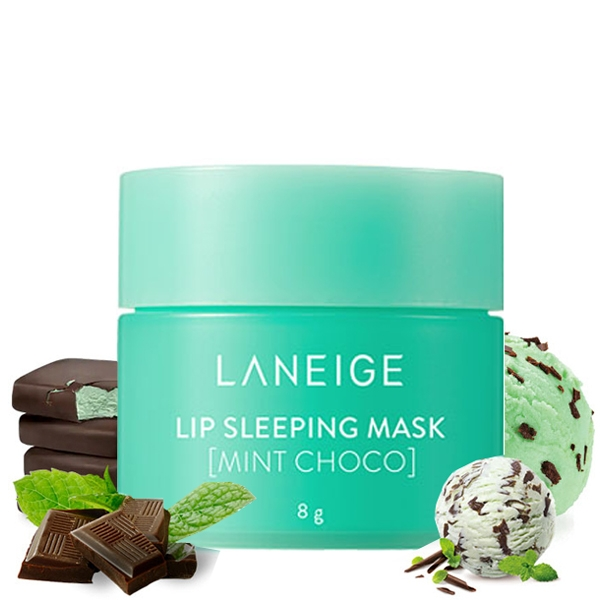 LANEIGE Lip Sleeping Mask 8g - Mint Choco
