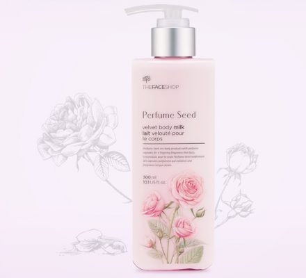 Sữa dưỡng thể The Face Shop Perfume Seed Velvet Body Milk 300 ml