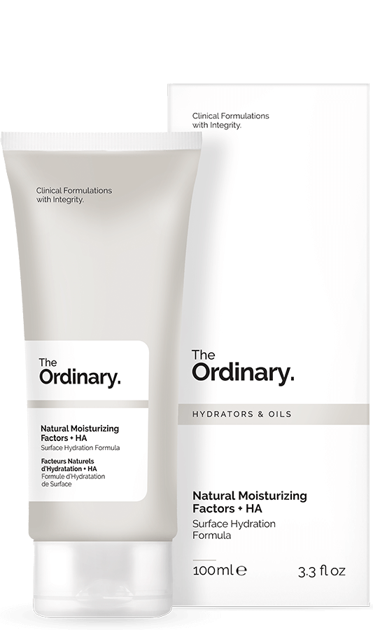 The Ordinary Natural Mosturizing Factors + HA cream