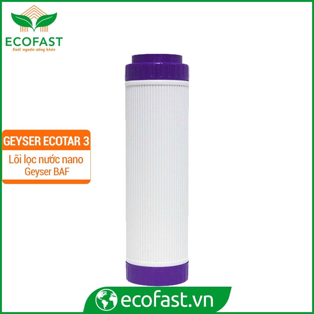 Bộ lõi lọc Geyser Ecotar 3