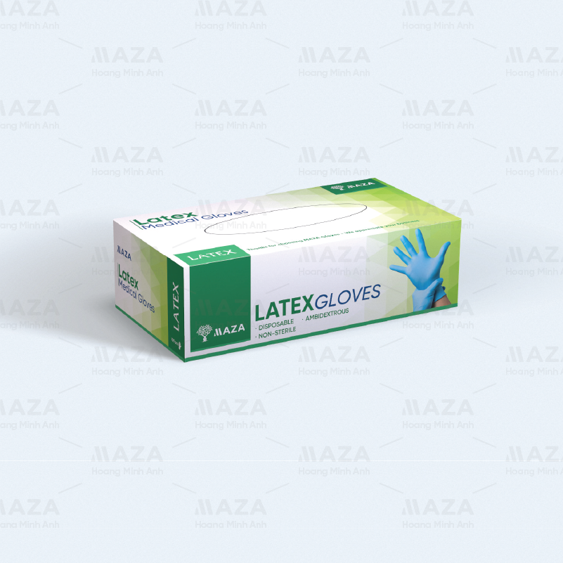 MAZA Latex Medical Gloves