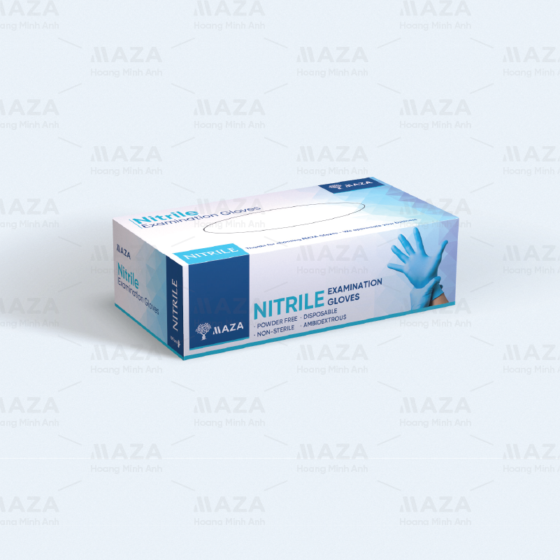 MAZA Nitrile Medical Gloves