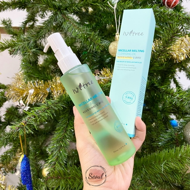 Dầu tẩy trang Isntree Micellar Melting Cleansing Oil
