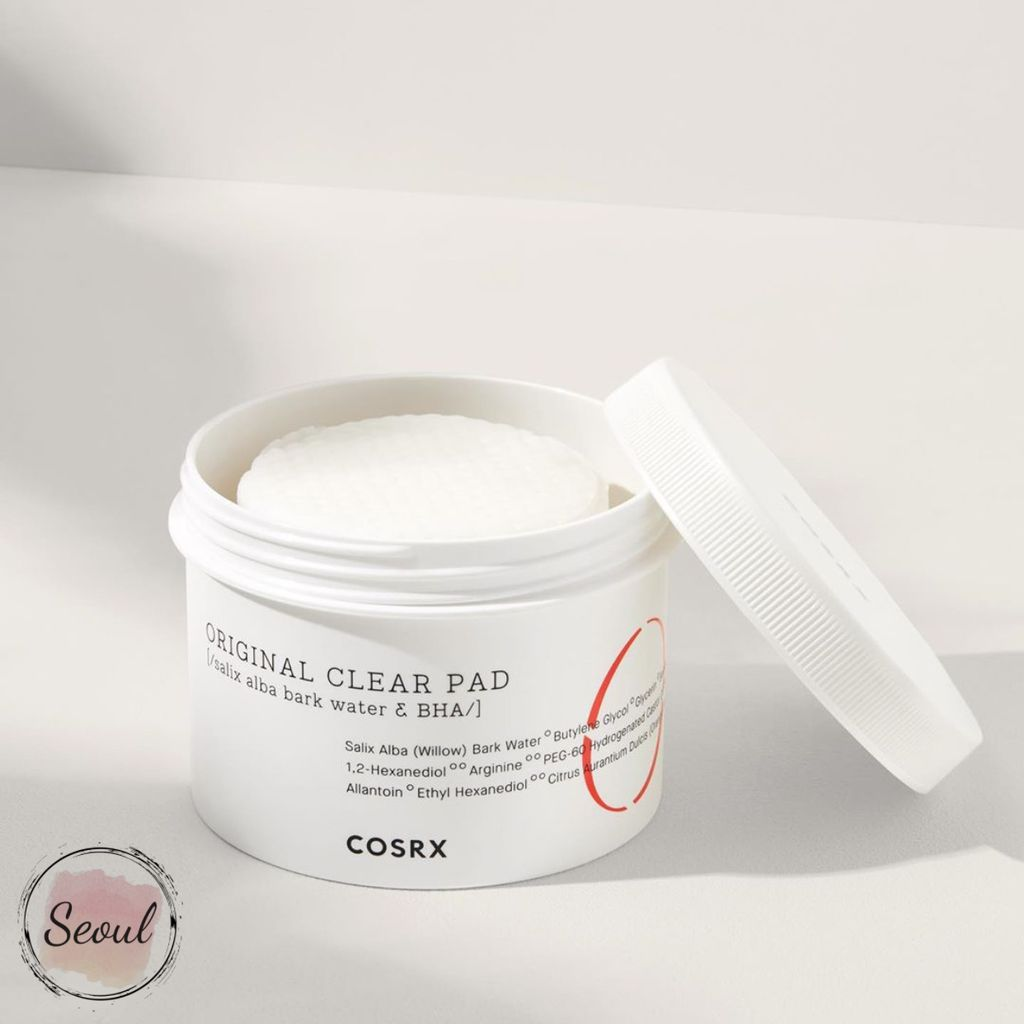 Pad tẩy da chết Cosrx One Step Pimple Original Clear Pad