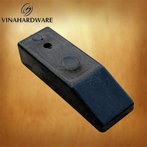 Black plastic bracket PP4515