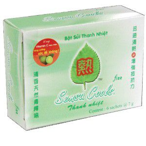 TU19 Sensa cool drink powder box