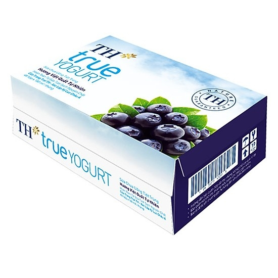 TU5 TH-true Milk Blackberry Yogurt drink 180ml