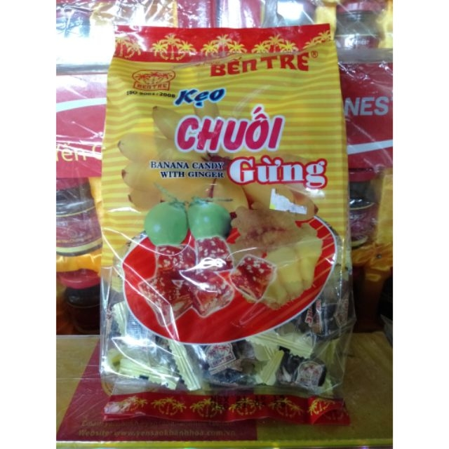 BK7 Kẹo Chuối Gừng-Banana Candy With Ginger