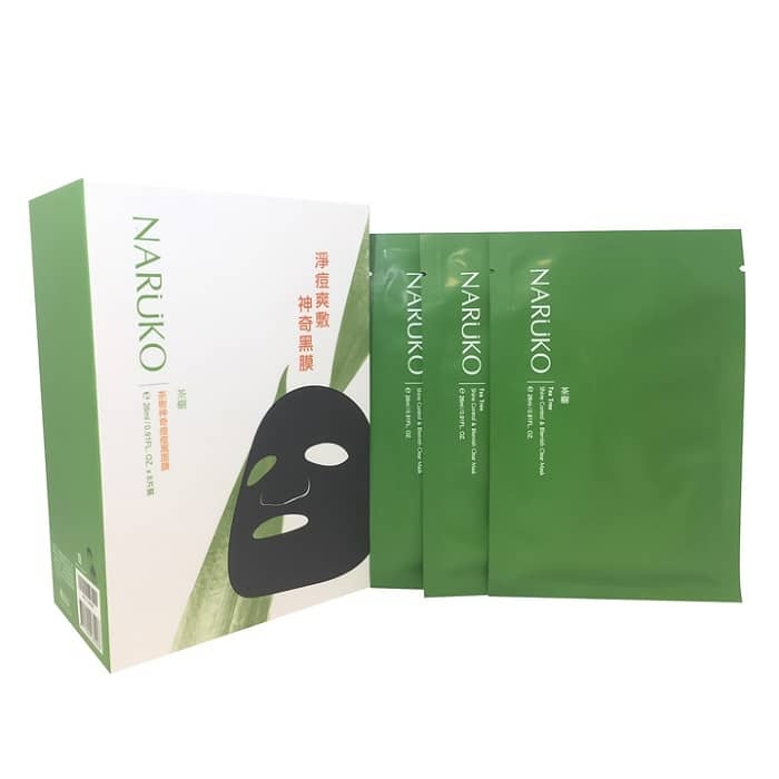 HP16 Naruko Tea Mask 8pcs
