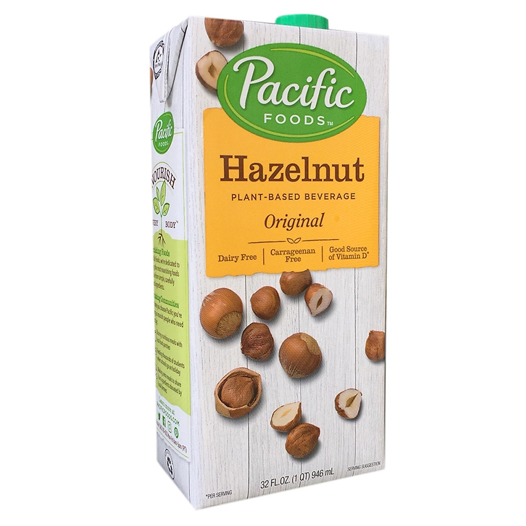 Sữa hạt dẻ hazelnut Pacific Foods 946ml