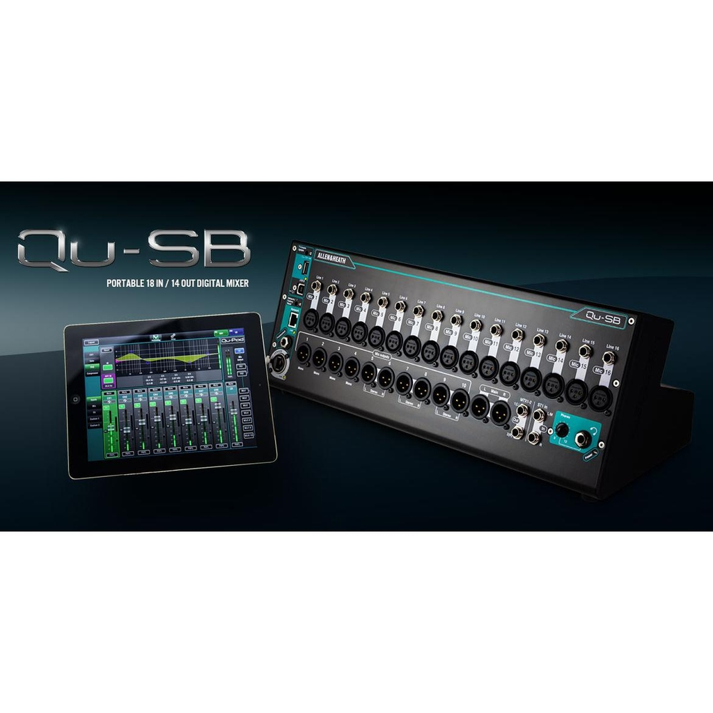 ALLEN&HEATH QU SB IPAD