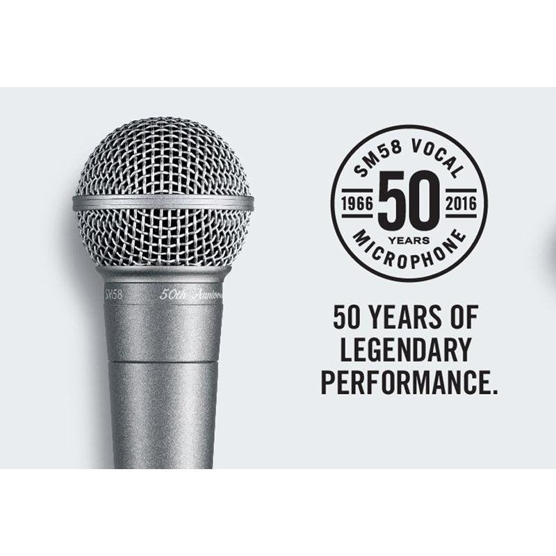 Shure sm58 50th anniversary edition, Mexico