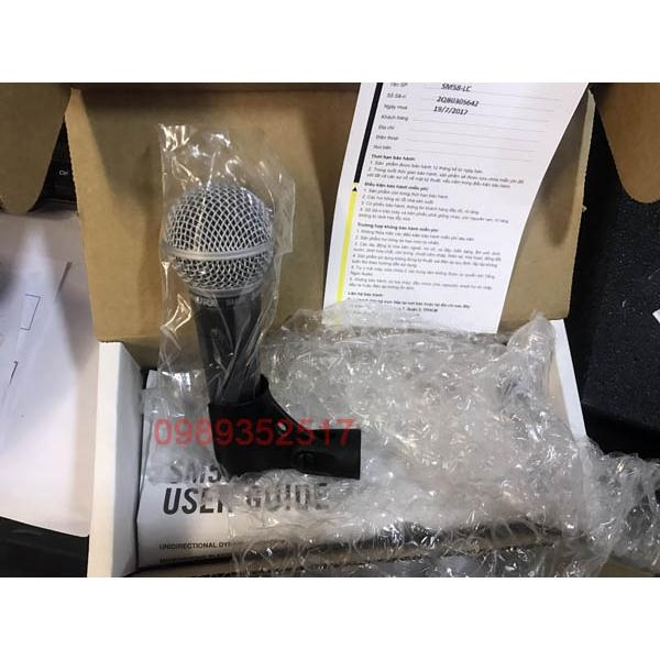 SHURE SM58-LC / 2020 Series