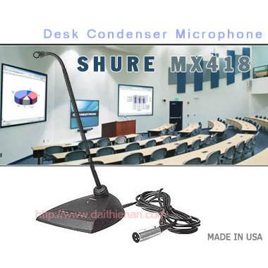 SHURE MX418D/C - USA Sx Mexico