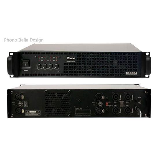 Phono TK-5004, 500Wx4 Kênh - Italia Design