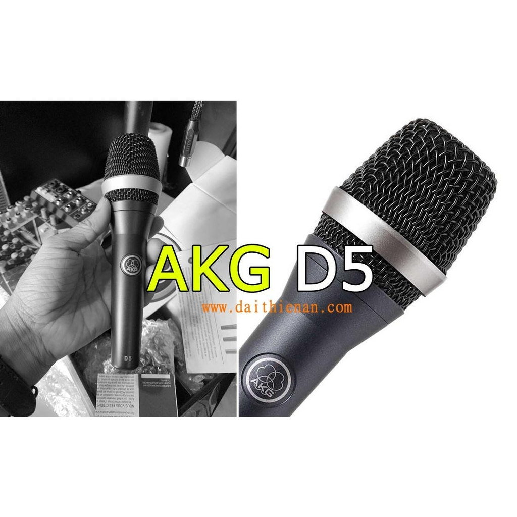 AKG D5 - Professional dynamic supercardioid vocal microphone