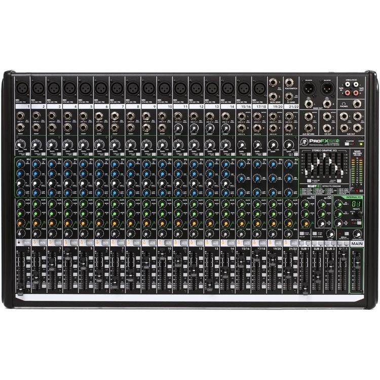 Makie ProFX-22V2 - 22channels