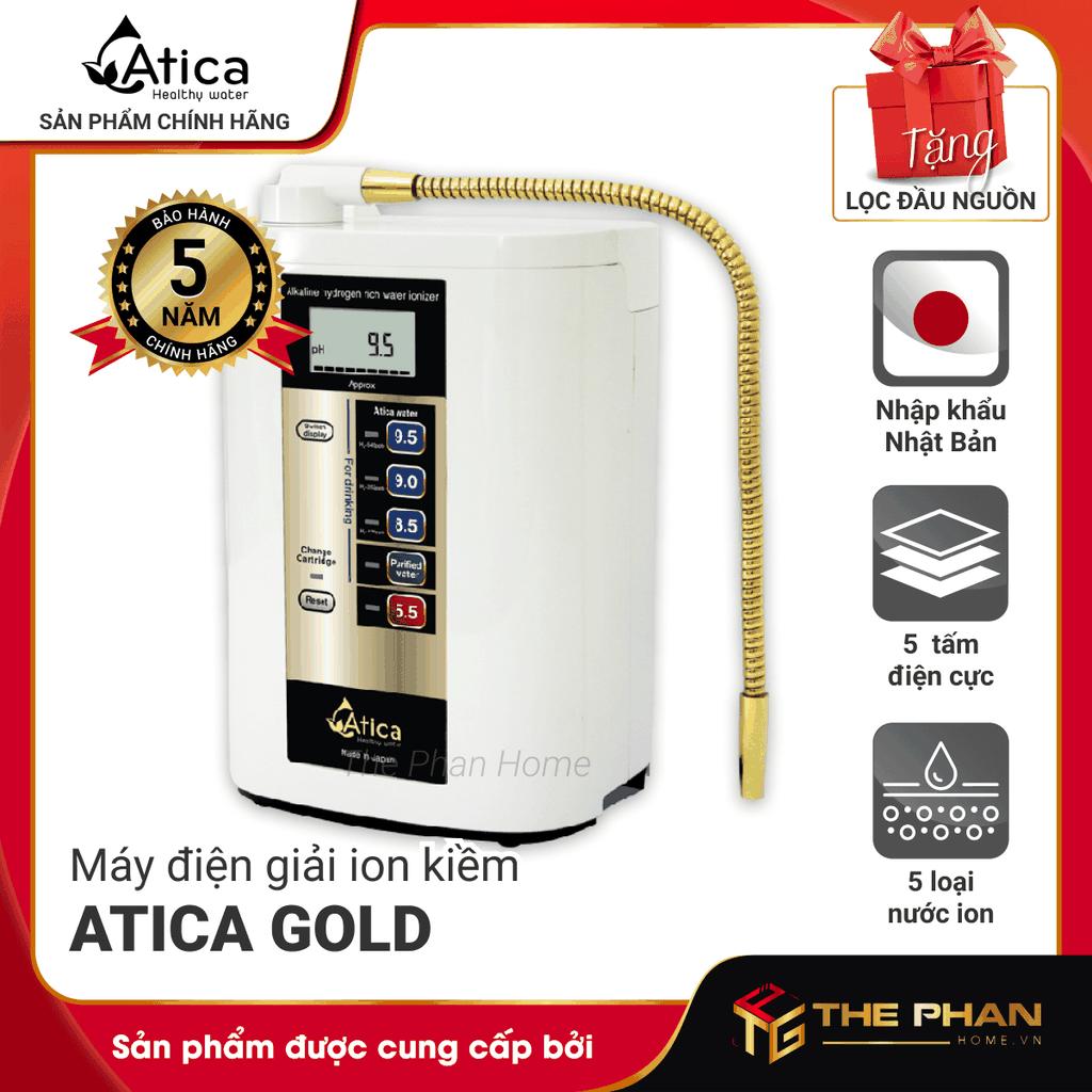 Máy Lọc Nước Điện Giải Ion Kiềm ATICA GOLD