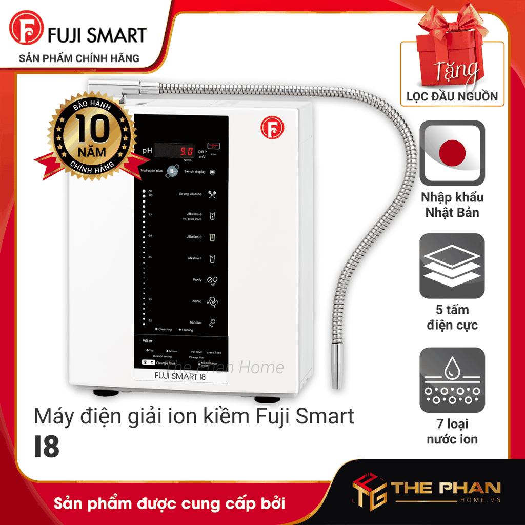 Máy Lọc Nước Điện Giải Ion Kiềm FUJI SMART I8