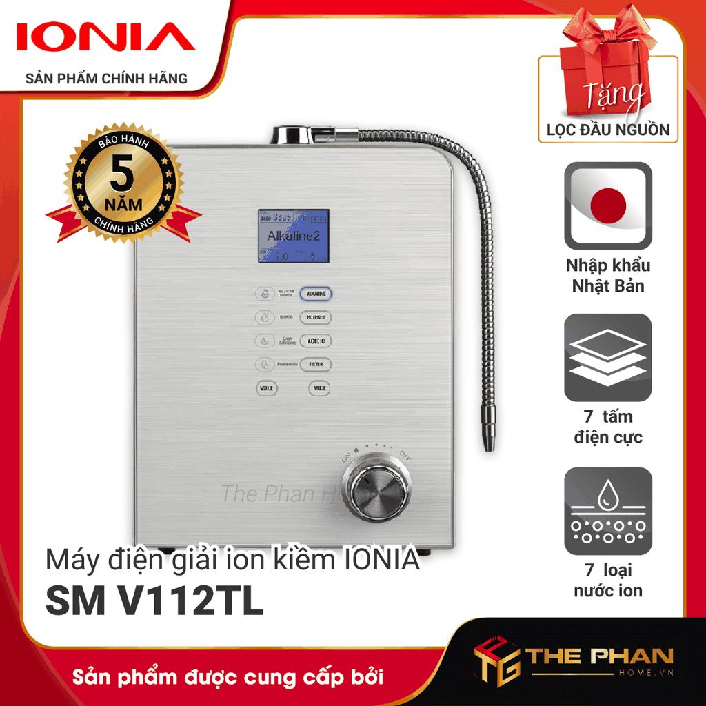 Máy Lọc Nước Điện Giải Ion Kiềm IONIA SM V112TL