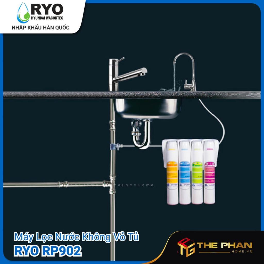 Máy Lọc Nước RYO Hyundai RP902 có 2 màu Trắng và Xanh.