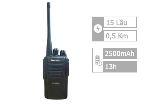 Motorola GP 328 Plus (500m - 15 lầu)