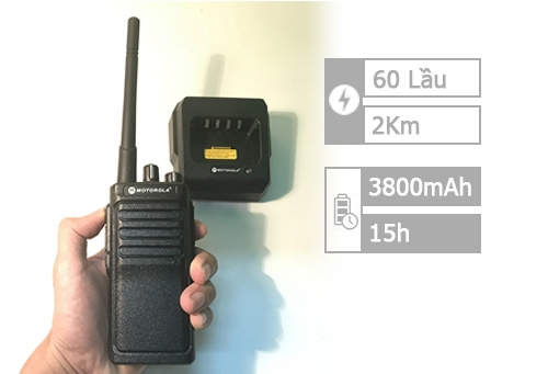 Motorola GP 3588 Plus (1000m - 60 lầu)