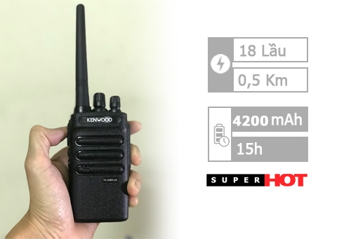 Kenwood Tk 508 Plus (800m - 18 lầu)