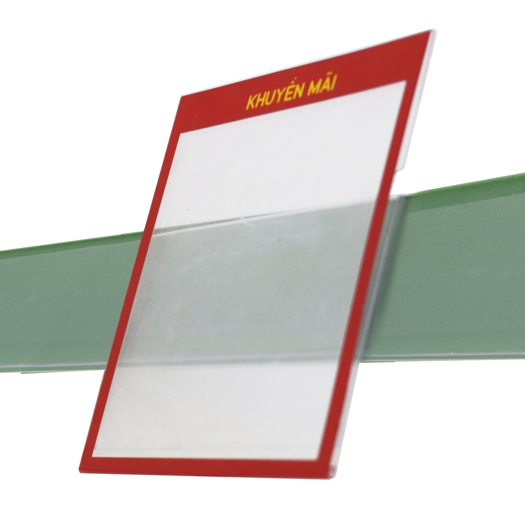 PVC price list board size 105x105mm