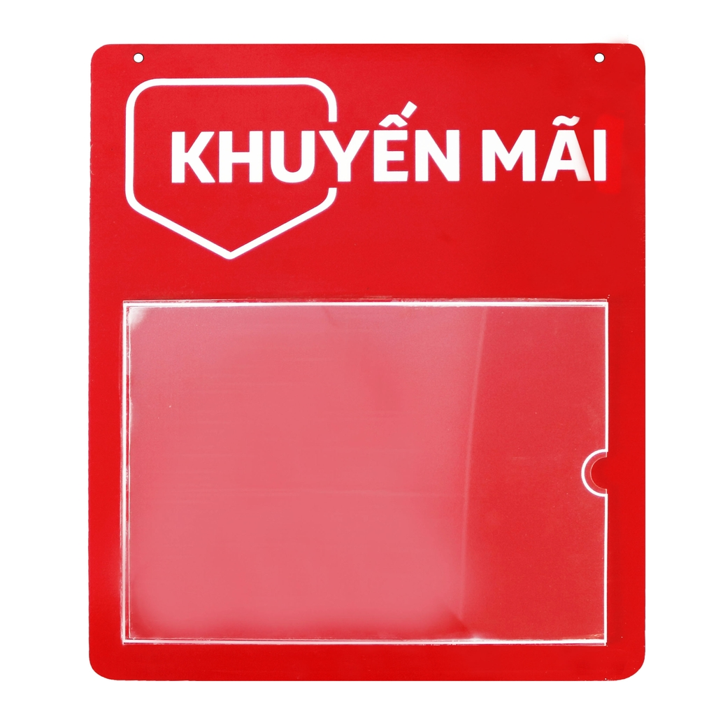 Promotional information plastic board