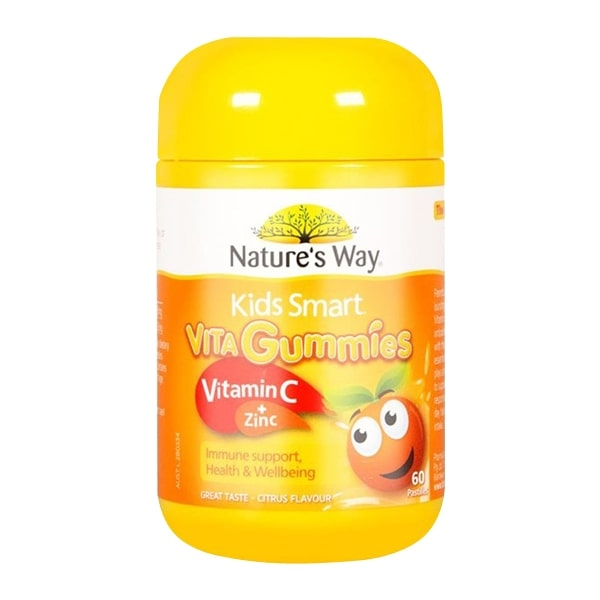 Kẹo dẻo Nature's Way Vita Gummies Vitamin C + Zinc
