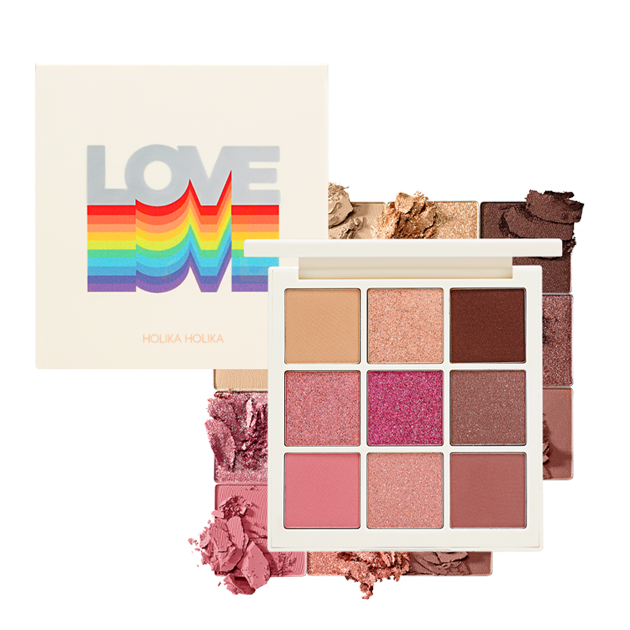 Bảng phấn mắt Love Shadow Palette
