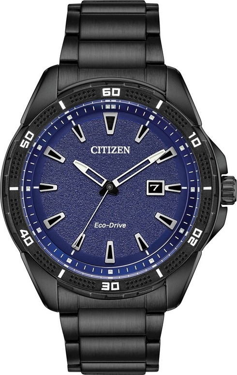 Đồng Hồ Nam AR Eco-Drive Blue Dial -  AAW1585-55L