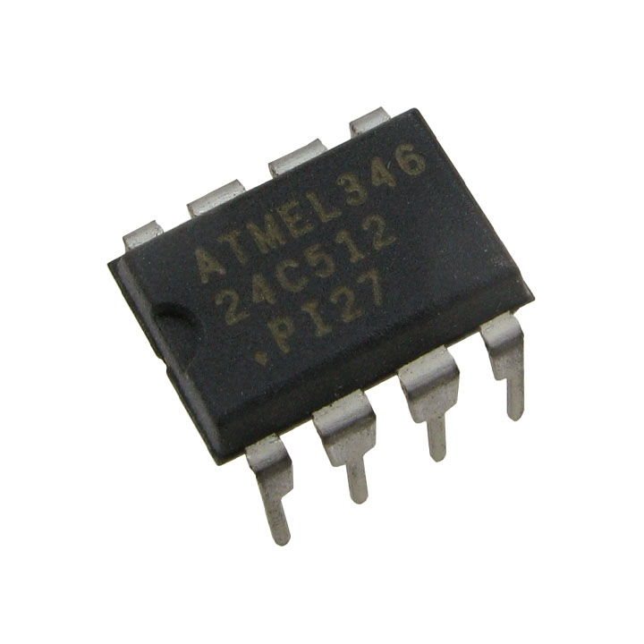 IC Nhớ AT24C512 DIP8