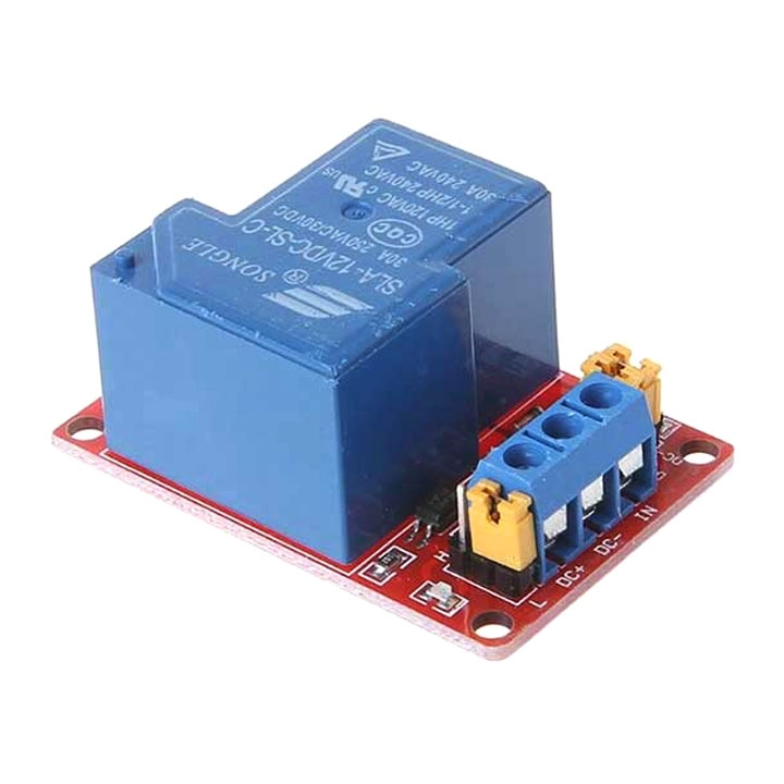 Module Relay 30A 250VAC High/Low 1 Kênh - 12VDC