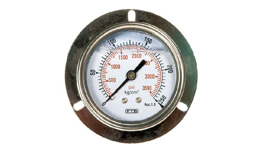 Đồng hồ đo áp suất chân sau FTB