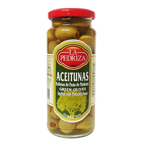 Green Olives stuffed with Pimiento paste 340g