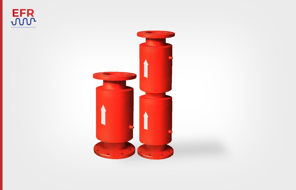Products: externally pressurized expansion joint, external pressure balanced expansion joint.