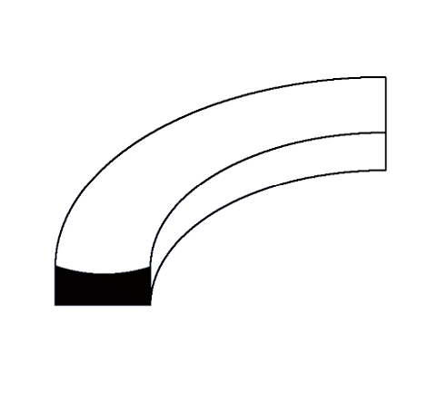 BACK UP RING(curve face) for inches groove C664