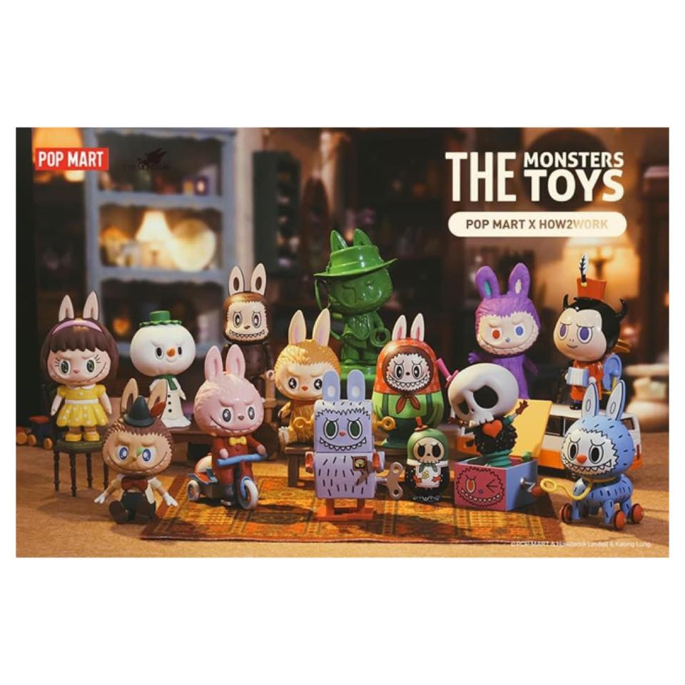 The Monster Toys Labubu Blindbox Series