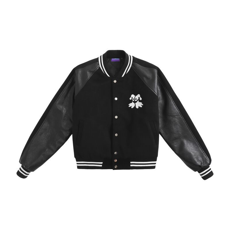 Big Logo Varsity Jacket