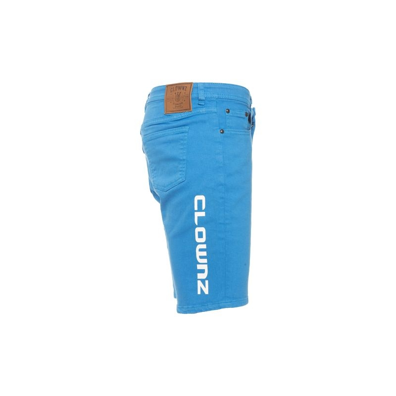 ClownZ Short Jeans - Blue