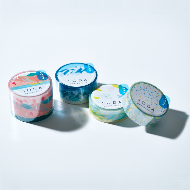 SODA tape - CMT15-005- Cubic rice candy