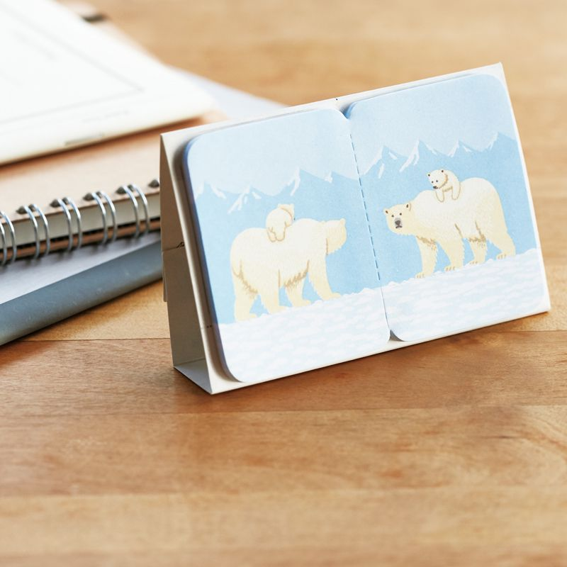 Two Forked Sticky Note - 3580-003 - Bear