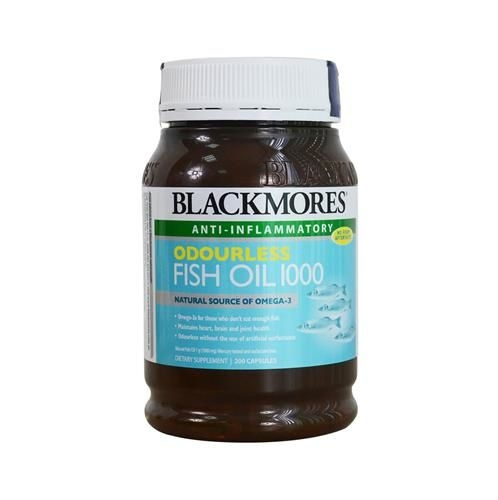 Blackmores Oudourless Fish Oil 1000 ( 200v/H)