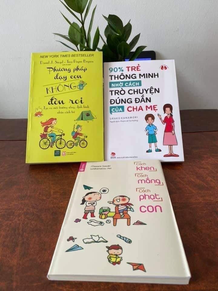 Combo 3 quyển sách nuôi dạy con | Vương Quốc Bé Yêu - Đồ chơi giáo dục và  vật dụng cho bé