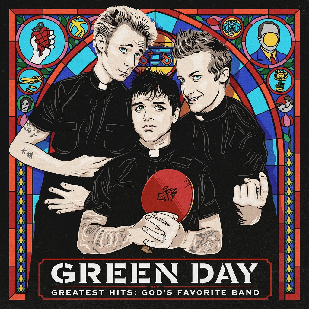 Green Day -  Greatest Hits: God's Favorite Band (2xLP)