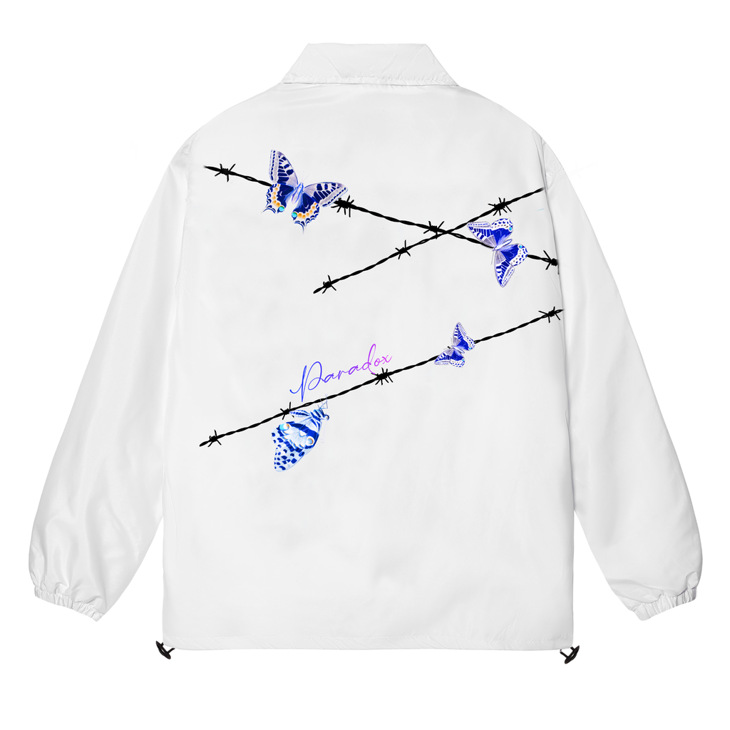 KILL THIS LOVE OVER-PRINTED JACKET (White)