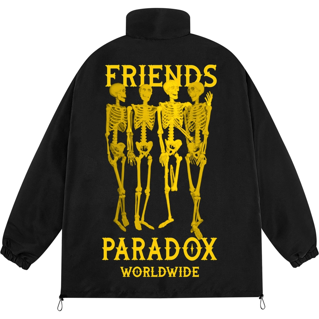 FRIENDS ZIP JACKET (Yellow)