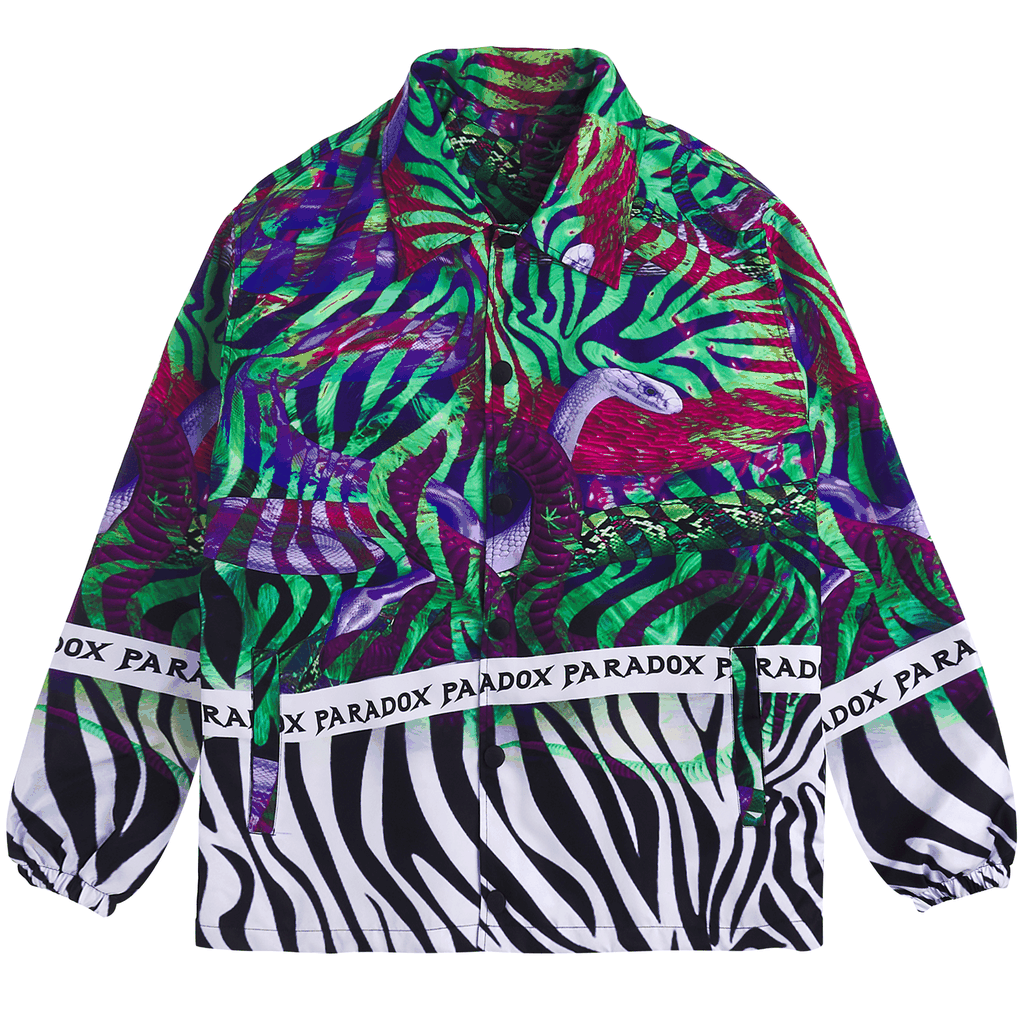 BITTEN OVER-PRINTED JACKET